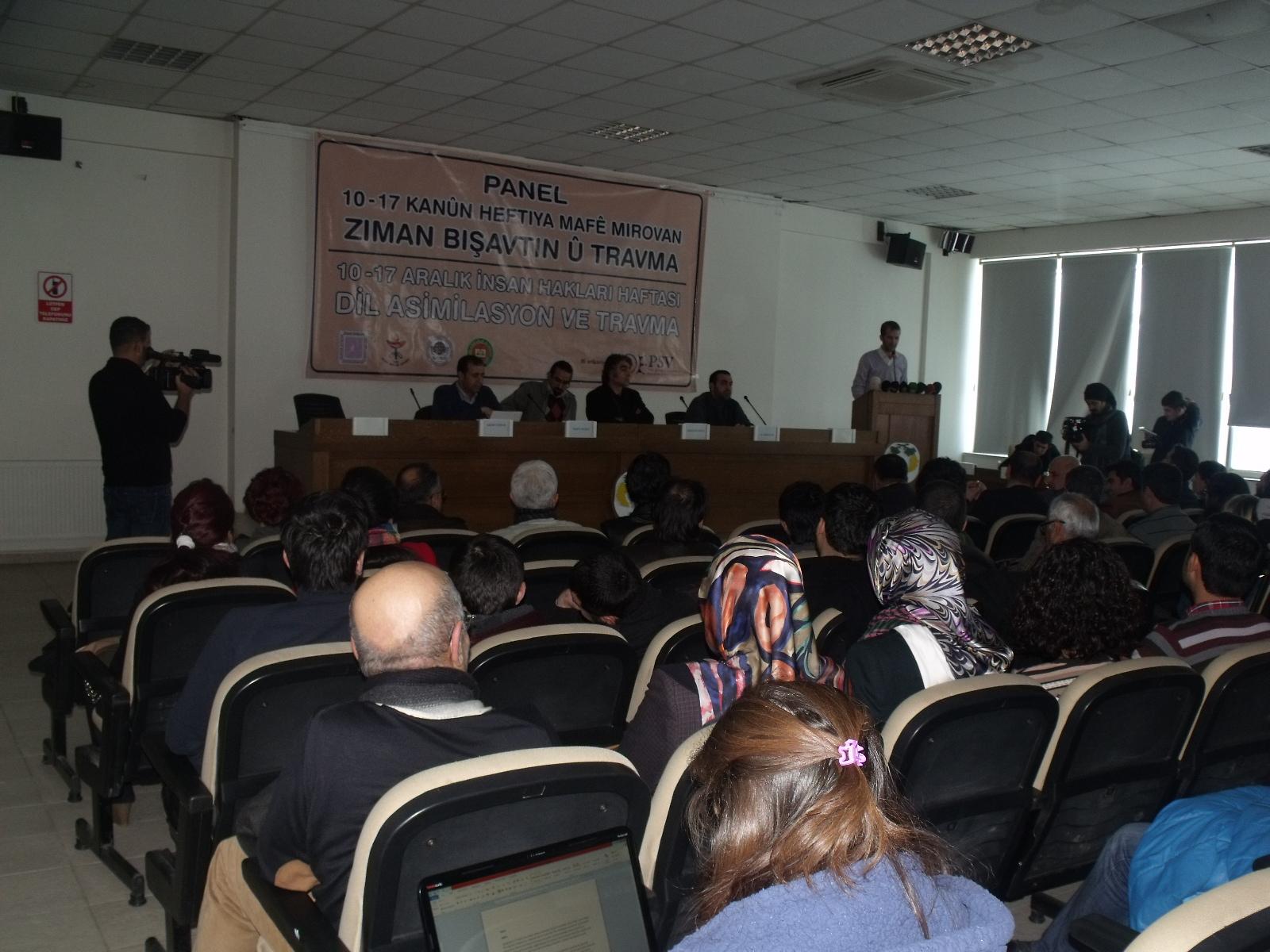 Dil, Asimilasyon ve Travma Paneli gerçekleştirildi!