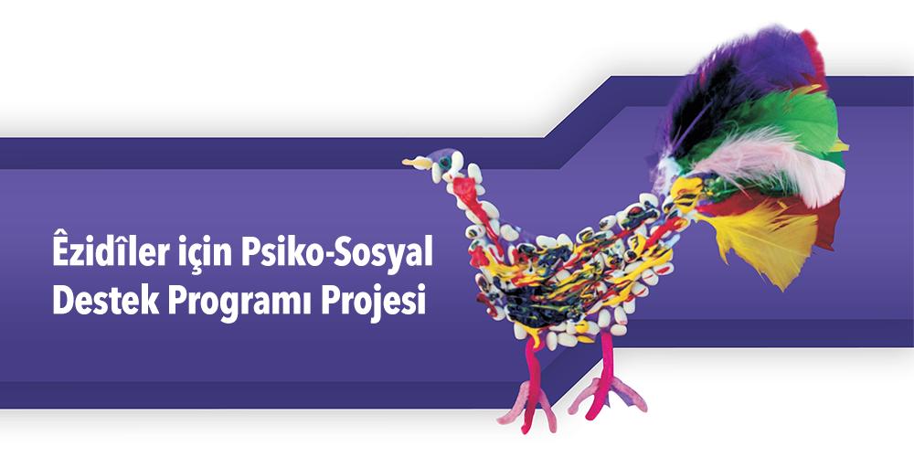 Êzidîler için Psiko-Sosyal Destek Programı Projesi Görsel