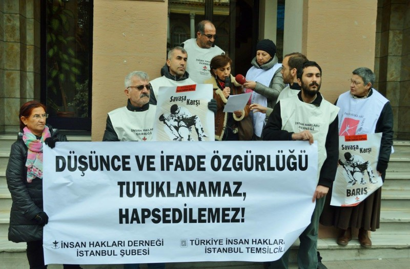 Düşünce ve İfade Özgürlüğü Tutuklanamaz, Hapsedilemez!