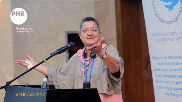 TİHV Başkanı Şebnem Korur Fincancı'ya İnsan Hakları Ödülü