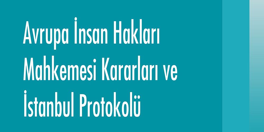 Avrupa İnsan Hakları Mahkemesi Kararları ve İstanbul Protokolü Görsel