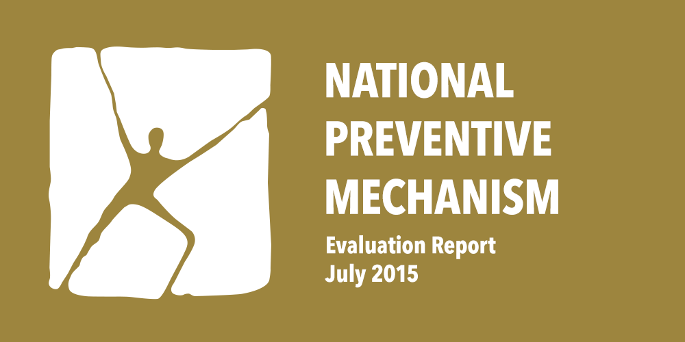 National Preventive Mechanism Evaluation Report July 2015 Görsel
