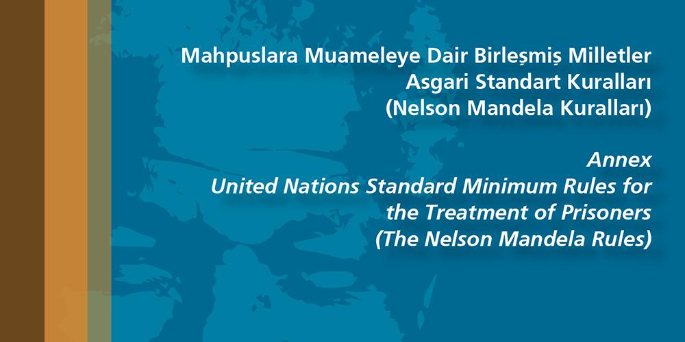 Nelson Mandela Kuralları - Mahpuslara Muameleye Dair Birleşmiş Milletler Asgari Standart Kuralları Görsel
