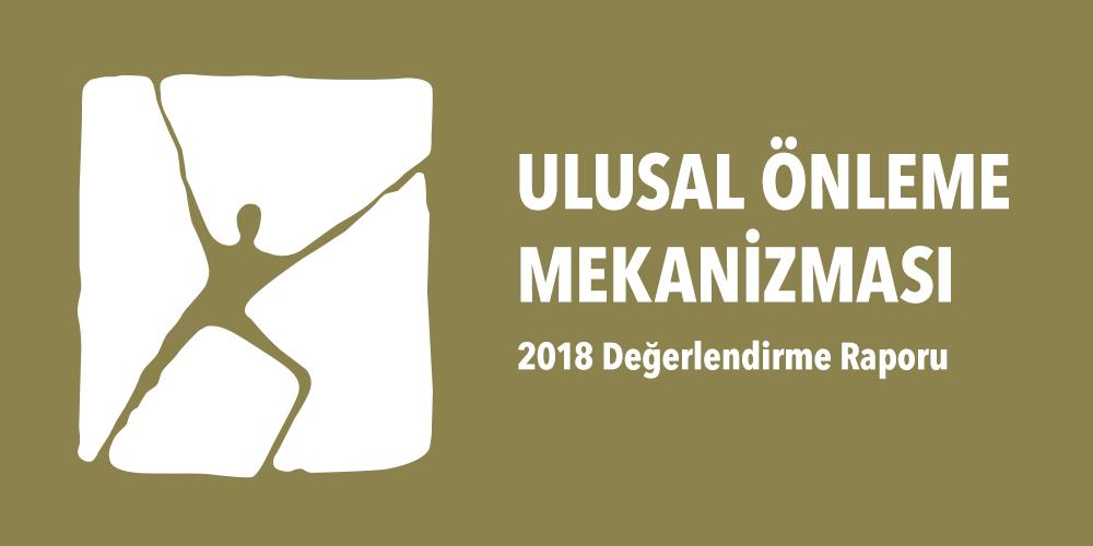 Ulusal Önleme Mekanizması 2018 Yılı Değerlendirme Raporu Görsel