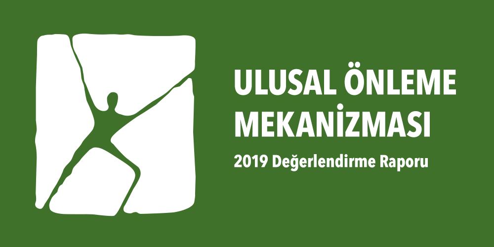 Ulusal Önleme Mekanizması 2019 Yılı Değerlendirme Raporu Görsel